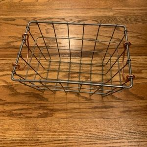Large Metal Decoration Tray with Handles Like new